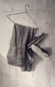 Percha y ropa 1988