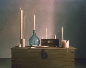 Bodegón de velas
