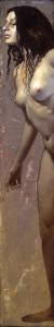 Desnudo femenino vertical