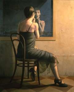 Eva en el espejo