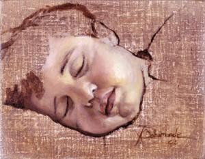 Lucía dormida